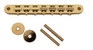 7 STRING TUNEOMATIC BRIDGE GOLD